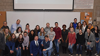 Group photo from Scott Chesney seminar - Buccino Leadership