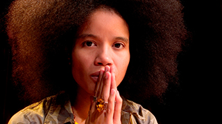 Author, spoken-word poet, performing artist, and activist Staceyann Chin x320