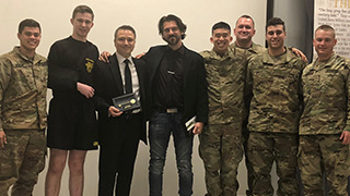 Criminal Justice Professor Given 'Key to West Point'