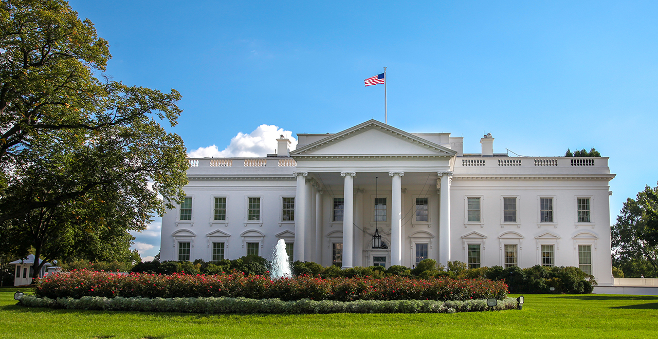The White House, North Facade Lawn