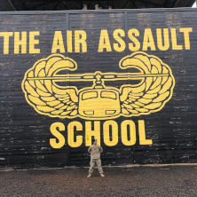 rotc training air assault school