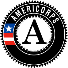 Americorps logo of an