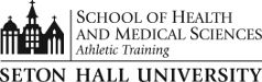 Logo for the Department of Athletic Training.