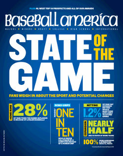 Cover of Baseball America.