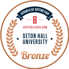 Bronze Medal School of Distinction by BestColleges.com