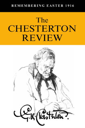 The Chesterton Review Journal 2016