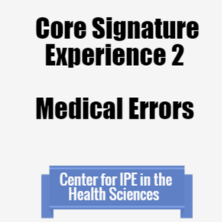Core Signature 2: medical errors