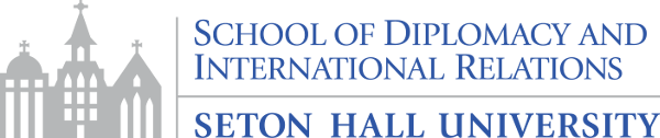 Logo for the School of Diplomacy.