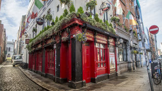 A pub located in Dublin, Ireland.