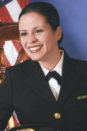 Egdanis Sierra Torres, Lieutenant and Public Affairs Officer, U.S. Navy
