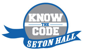Know the Code logo from Student Life.