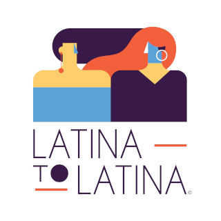 Latina to Latina podcast logo