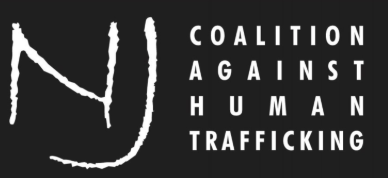 Logo for the NJ Coalition Against Human Trafficking.