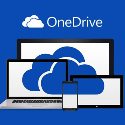Onedrive backup drive graphic