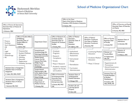 Office of the Dean Organizational Chart