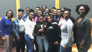 Students and mentors in Upward Bound Program.