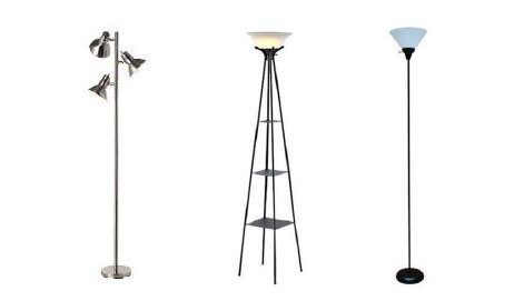 Lamps with Metal Shades, Glass Shades, or Single Plastic Shades