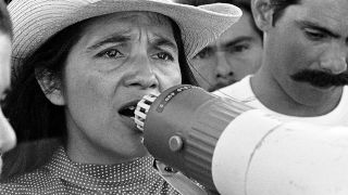 Dolores Huerta has worked for labor rights and social justice for more than 50 years.