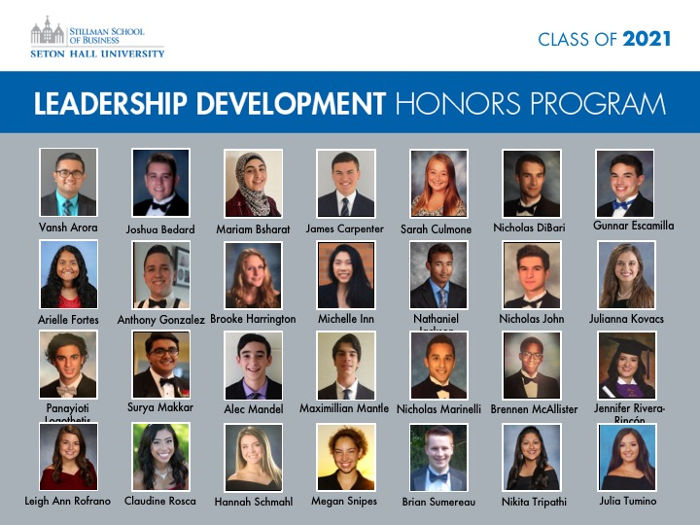 Leadership Development Honors Program, Class of 2021