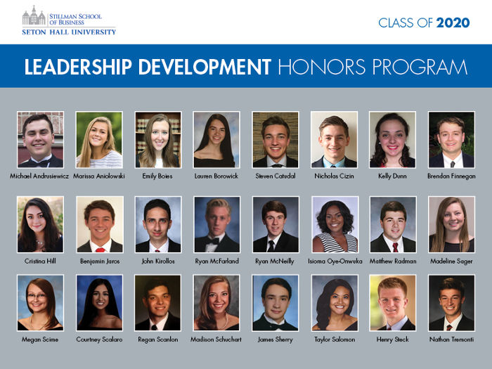 Leadership Development Honors Program, Class of 2020