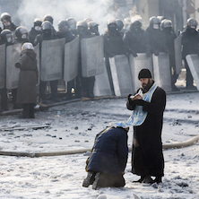 confessing at maidan