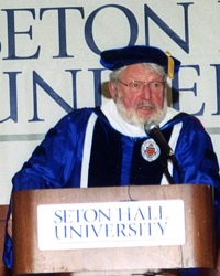 Theodore Bikel receives a Doctorate of Humane Letters at the tenth annual Evening of Roses in 2003