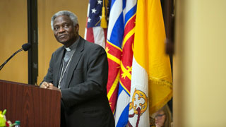 "Cardinal Peter Turkson speech for Pope Francis Encyclical, ""Laudato Si'"