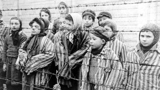 Child survivors of the Holocaust.