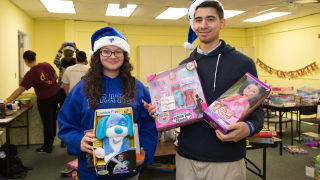 DOVE Toy Drive for Children in Need