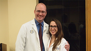 Emily Weinick, Christopher Hanifin, Physician Assistant