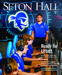 Cover of the Seton Hall Magazine Spring 2020 Edition