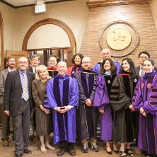 Faculty members who achieved tenure and/or promotion