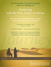 Journeying with the Holy Family