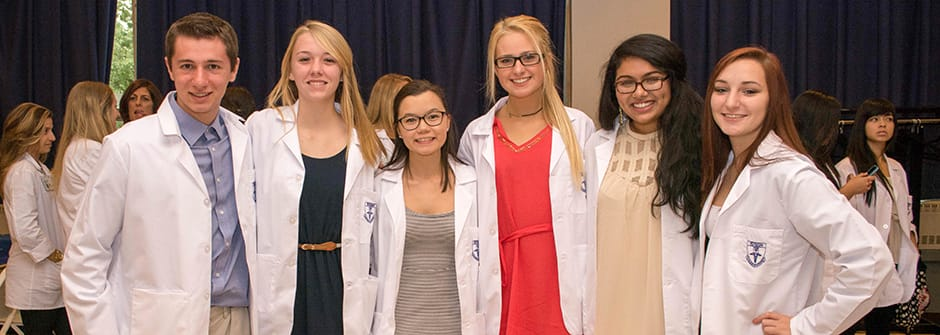 White Coat Ceremony Seton Hall University