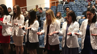 2018 Annual, White Coat Ceremony