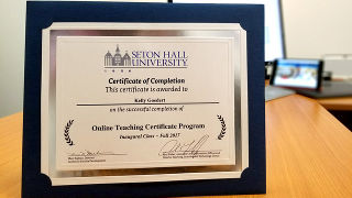 Online Teaching Certificate Program