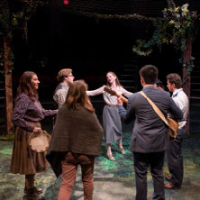 Photo of Seton Hall Theatre Program's production of Twelfth Night