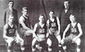 1908-1909 Seton Hall basketball team.