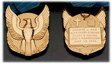 Special congressional Medal of Valor awarded to the