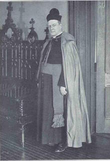Monsignor Thomas H. McLaughlin (1881-1947), president of Seton Hall College (1922-1933); rector of Immaculate Conception Seminary (1922-1938). - AAN