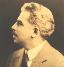 Professor Nicola A. Montani (1880-1948), director of music at Darlington. - AAN